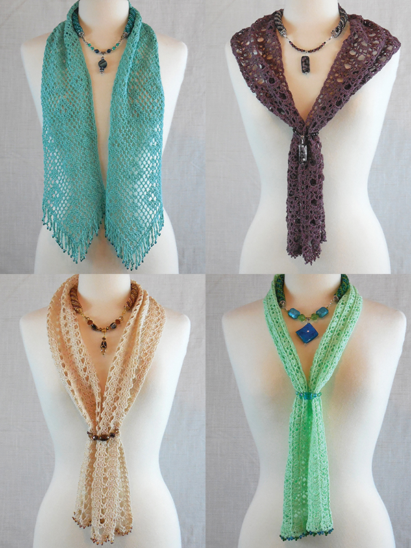 Beaded Bliss Scarves