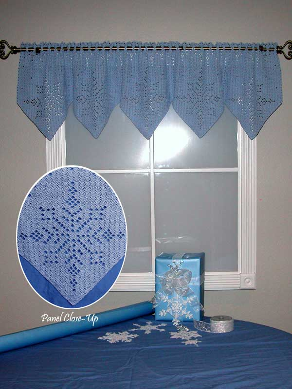 Let It Snow Valance