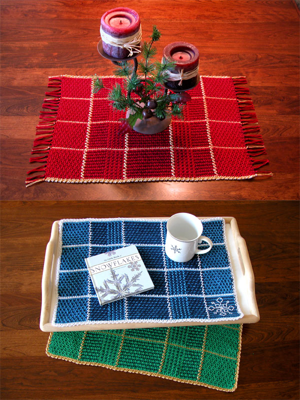 Two-Tone Reversible Placemats